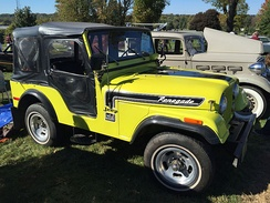 Mostly original 1974 Jeep CJ-5 Renegade