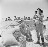 British infantry near El Alamein, 17 July 1942