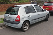 Renault Clio Phase 2 first facelift