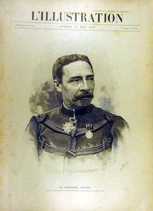 Alfred-Amédée Dodds, a mixed-race French general and colonial administrator born in Senegal