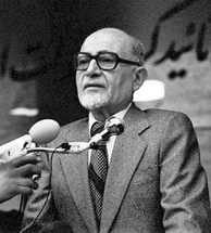 Iranian prime minister Mehdi Bazargan was an advocate of democracy and civil rights. He also opposed the cultural revolution and US embassy takeover.