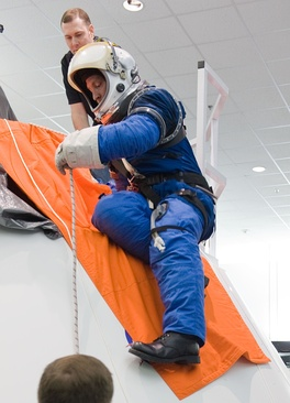 Image of early Constellation Space Suit prototype – February 2010