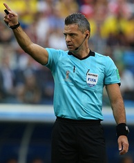 Damir Skomina, the referee for the final.