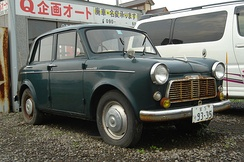 The Datsun 1000 was among the earliest Japanese cars to arrive in Malaysia.[1]