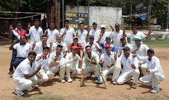 ENC Cricket Team which won the VDCA Institutional League Cricket Championship 2015–16