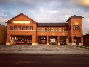 The Englewood fire station