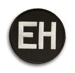 Ernie Harwell commemorative patch worn by the Tigers in 2010.