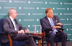 Mike Rogers at Hudson Institute talked about Clear and Present Danger: Confronting the Cyber Threat from China and Russia