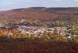 Alabama formed in Fort Payne, Alabama (seen here in 1999).