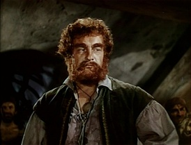 Sanders as Captain Billy Leech in The Black Swan (1942)