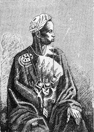 A Griot, who have been described as an endogamous caste of West Africa who specialize in oral story telling and culture preservation. They have been also referred to as the bard caste.
