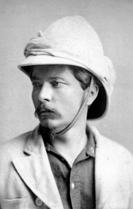 Henry Morton Stanley in 1872. Stanley circumnavigated the lake and confirmed Speke's observations in 1875.[62]