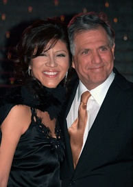 Moonves with his wife Julie Chen at the 2009 Tribeca Film Festival