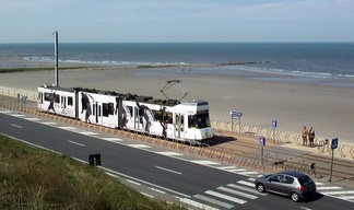 Belgium's Coast Tram operates over almost 70km and connects multiple town centres.