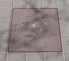 Michaels' star on Canada's Walk of Fame.