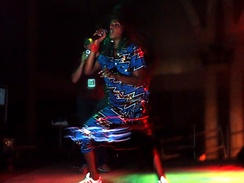 M.I.A. performing at Sónar on her Arular Tour