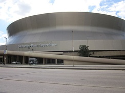 Mercedes-Benz Superdome.