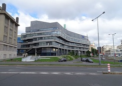 Headquarters of the Galileo system in Prague