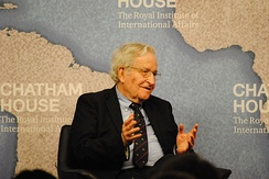 Chomsky speaking at Chatham House, London, May 2014