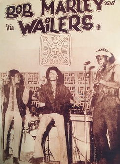 Paul Douglas with Bob Marley and the Wailers