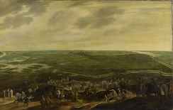The defeated Spanish garrison leaving 's-Hertogenbosch, 17 September 1629