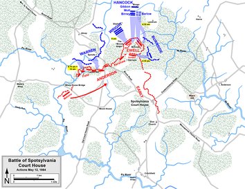 Grant's grand assault, May 12