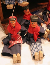 Traditional Liégeois puppets