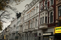 Another example of Aachen early 20th-century Gründerzeit houses