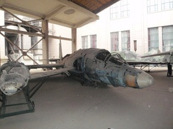 U-2C 56-6691 wreckage restored and on display at the Military Museum of the Chinese People's Revolution, Beijing