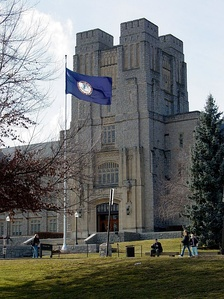Virginia Tech's Burruss Hall