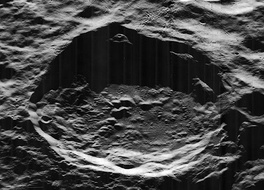 The von Neumann crater, on the far side of the Moon.