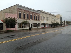Street in the Downtown Waycross Historic District