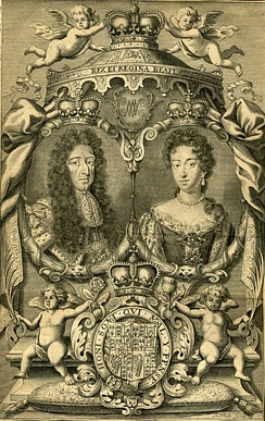 Engraving of William and Mary