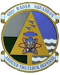 Emblem of the 692d Radar Squadron