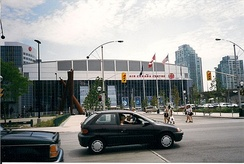 The Air Canada Centre in July 1999, several months after the arena was opened.