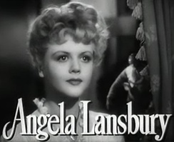 Lansbury in the trailer for The Picture of Dorian Gray