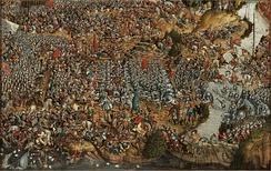 During the Battle of Orsha in 1514 Lithuanians hopelessly trounced the Grand Duchy of Moscow forces