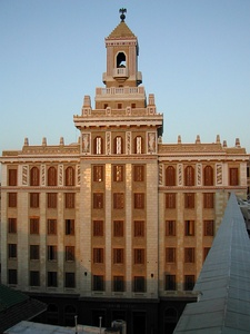 The Bacardi Building in Havana, Cuba (1930)