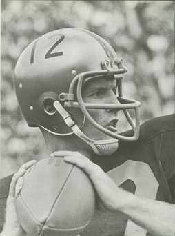 Bob Griese, two-time Heisman Trophy candidate and 1966 Sammy Baugh Trophy recipient