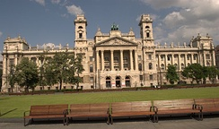 The original and the future seat of The Curia, the highest court in Hungary