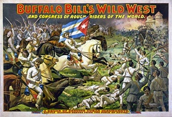 Buffalo Bill's Wild West and Congress of Rough Riders of the World, c.1898