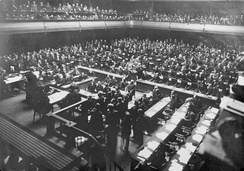 League of Nations conference in Geneva (1926).