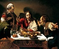 Supper at Emmaus, Caravaggio, 1601, London