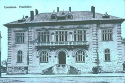 The Constanța County Prefect's building (1906–1949), currently used as headquarters of the Constanța military district[8]