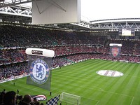 The 2007 Football League Cup Final between Chelsea and Arsenal