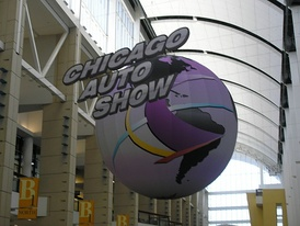 The title for the 2007 Chicago Auto Show.