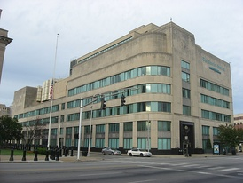 Courier-Journal offices in downtown Louisville, built during the Bingham era