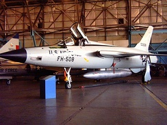 F-105D 60-0508, formerly with 49th TFW, at Wings Over the Rockies Museum, Denver, Colorado