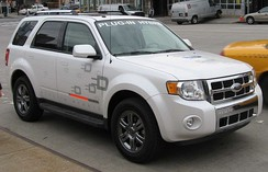 Ford Escape plug-in hybrid test vehicle