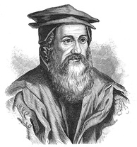 Conrad Gesner (1516–1565). His Historiae animalium is considered the beginning of modern zoology.
